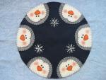 Frosty Penguins Pattern