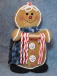 #667 Gingerbread Candy Cane Holder Pattern