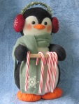 Penguin Candy Cane Holder Pattern-penguin, penguin pattern, candy cane holder, penguin candy cane holder, candy cane holder pattern