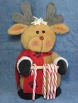 Reindeer Candy Cane Holder Pattern