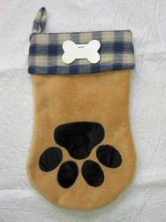 "Santa ""Paws"" Stocking Pattern"