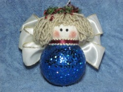 Angel Christmas Ball Ornament Pattern
