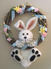 Bunny Wreath Pattern
