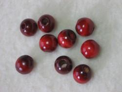 Cranberry Beads