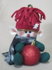 Elf Bauble Holder Pattern