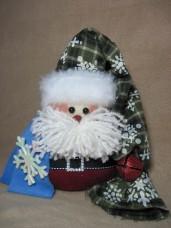 Flakey Santa Pattern