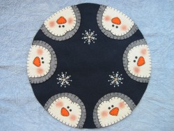 Frosty Penguins Pattern