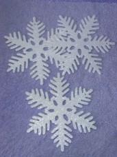 Large Glitter Snowflake
