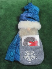 Gnome Gift Card Holder Pattern