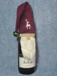 Gnome Wine Topper Pattern