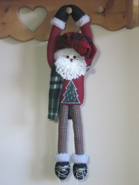 Hang On! Santa Pattern