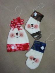 Happy Hat, Sock, & Mitten Pattern