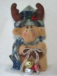 Jingle Moose Pattern