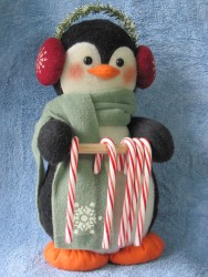 Penguin Candy Cane Holder Pattern