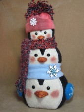 Pile of Penguins Pattern