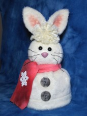 Rabbit Toilet Paper Roll Cover Pattern