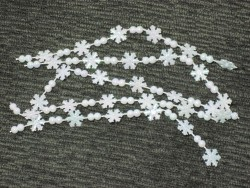 Miniature Snowflake Garland