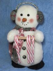 Snowman Candy Cane Holder Pattern