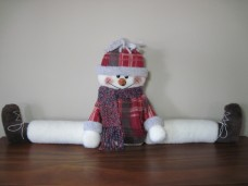 Snowman Draft Stopper Pattern
