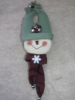 Snowman Knobbie Pattern