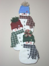 Snowman Wallhanging Pattern