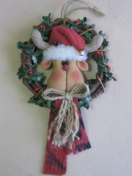 Woodsy Reindeer Pattern