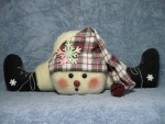 #672 Bottoms Up Snowman Pattern