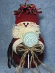 Lollipop Santa Pattern