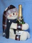 Snowman Wine Hugger Pattern