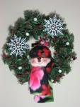 Snowman Wreath Pattern